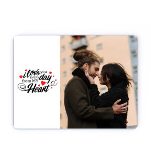 """Mousepad """"i love you every day"""""""